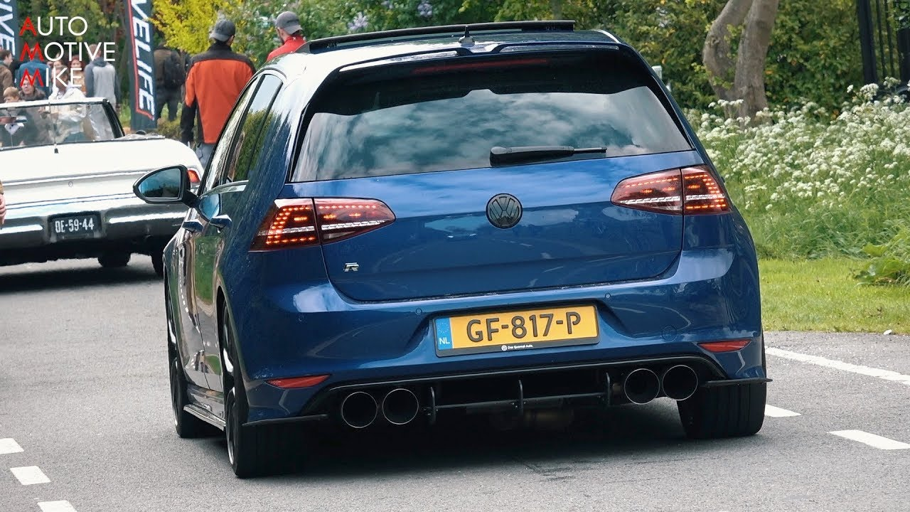 480HP Stage 3 VW Golf 7 R w/ LOUD Custom Exhaust! Launch Control, Revs & Accelerations!