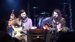 Taking Back Sunday Live - Please Come Home for Christmas acoustic - Star Ballroom NJ - 121518 3