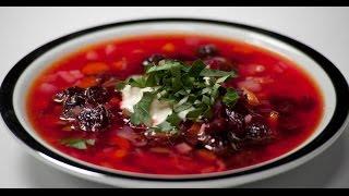 Борщ с вишней | 7 нот вегетарианской кухни