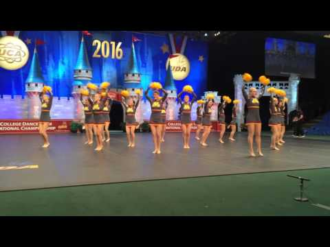 University of Minnesota 2016 UDA Finals Pom routine