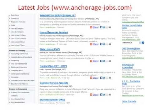 jobs available in Anchorage, AK. See salaries, compare reviews, easily apply, and get hired. New careers in Anchorage, AK are added daily on coolmfilehj.cf The low-stress way to find your next job opportunity is on Simply Hired. There are over careers in Anchorage, AK waiting for you to apply!