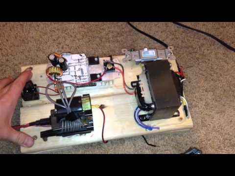 The Cube How To Make High Voltage Power Supply W Flyb