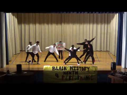 Black History Show at Madiba Prep Middle School PART 1