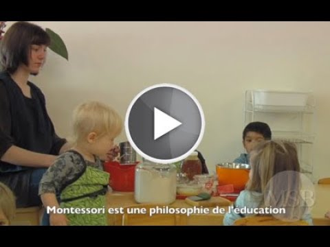 Montessori selon les âges (Association Montessori de France)