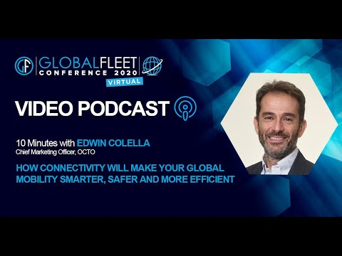 10 Minutes with E. Colella: How Connectivity will make your mobility smarter, safer & more efficient