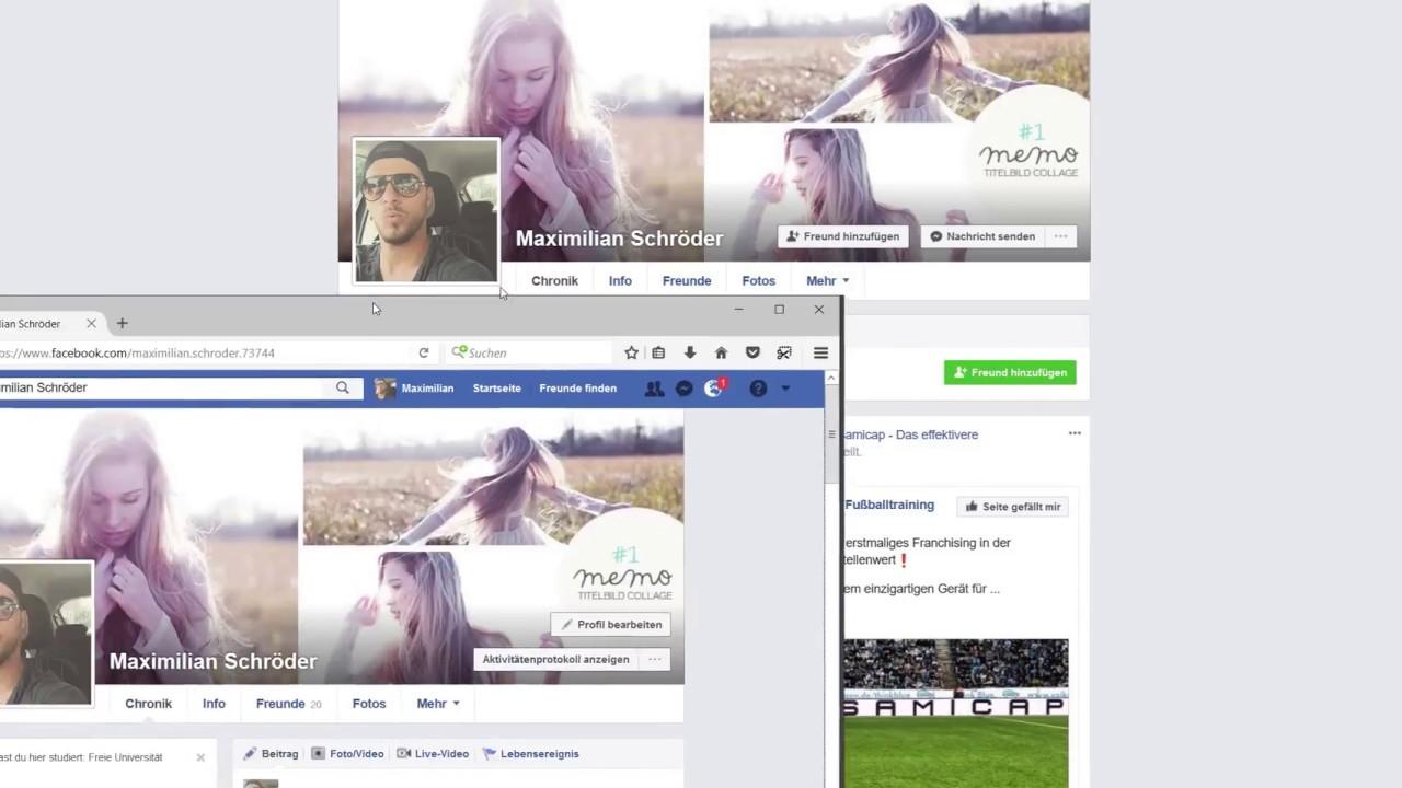 Facebook Post Likes auf privaten Profil - Einstellungen