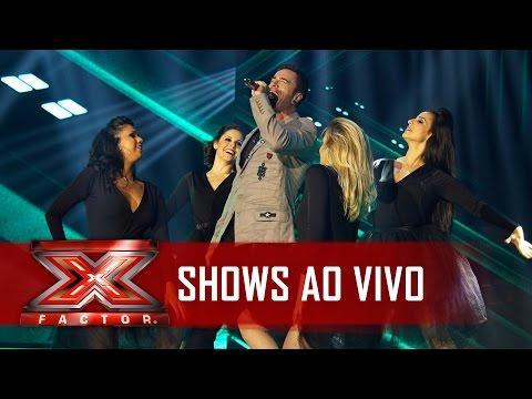 Cristopher deu um show com Aerosmith   X Factor BR