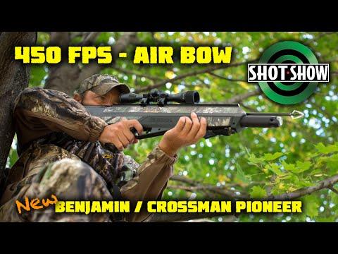 Benjamin Pioneer AIRBOW - BIG GAME Hunting, Archery, Survival SHOOTING - Redefined - 450 Fps