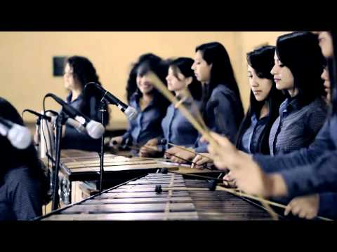 Cuando cae la lluvia - Grupo femenino de marimba de Malacatancito