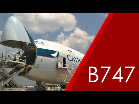 Cathay Pacific 747-8F World Record Cargo Loading Timelapse