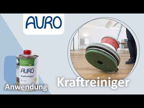 AURO Anwendung Holzboden renovieren