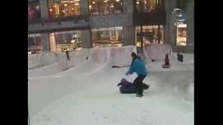 Дубай: на горных лыжах под палящим солнцем