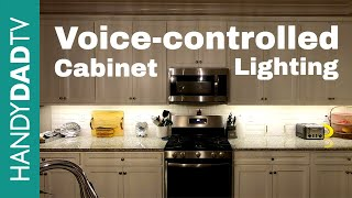 Voice-controlled Cabinet Lights | Smart Home