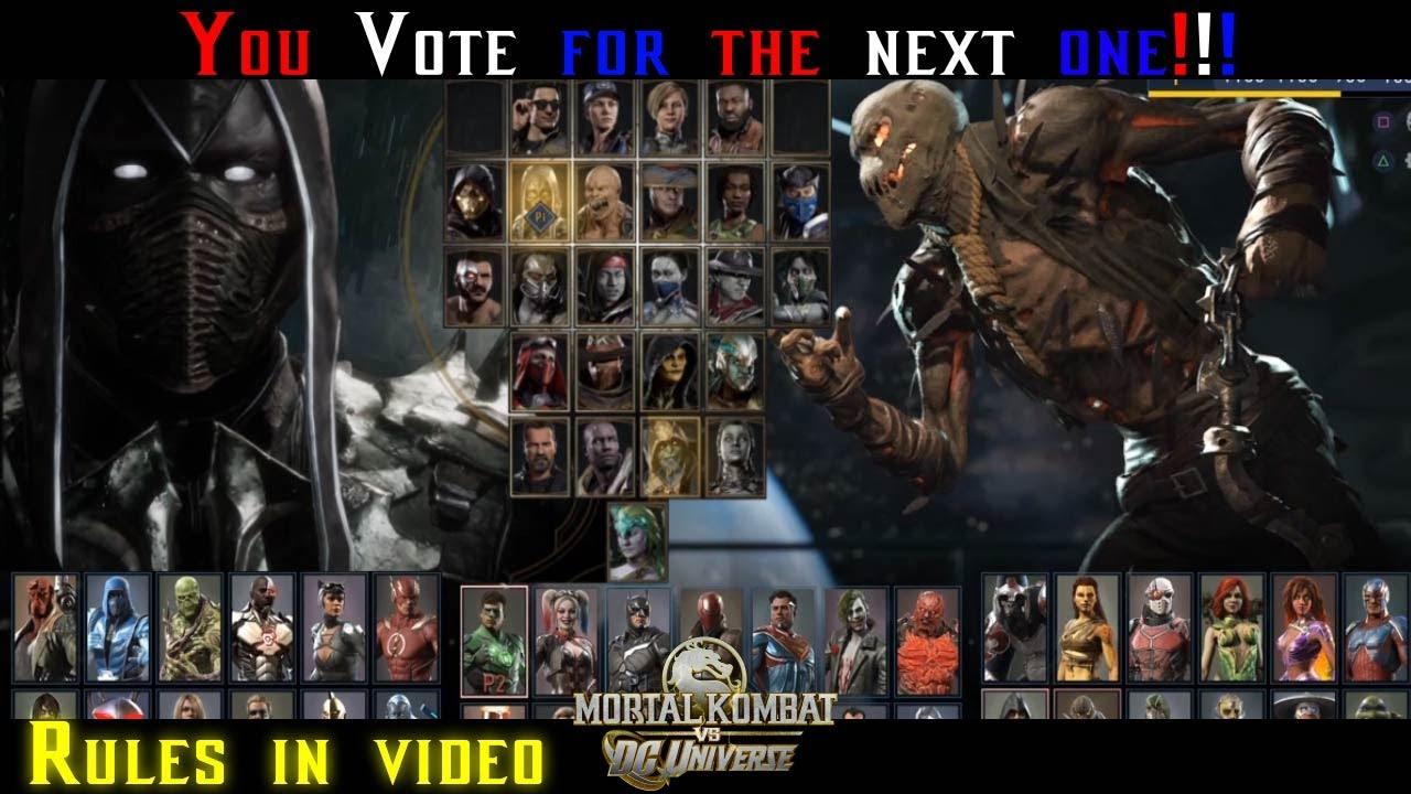Download Mortal Kombat 11 vs Injustice 2 Intro Vote