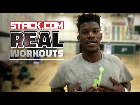 Real Workouts: NBA Star Jimmy Butler, Pt. 2 [On-Court Drills]