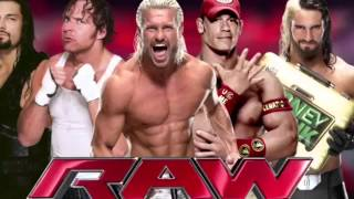 "Wwe Raw Theme Song 2015 ""Tonight Is The Night"" With Intro By CFO$"