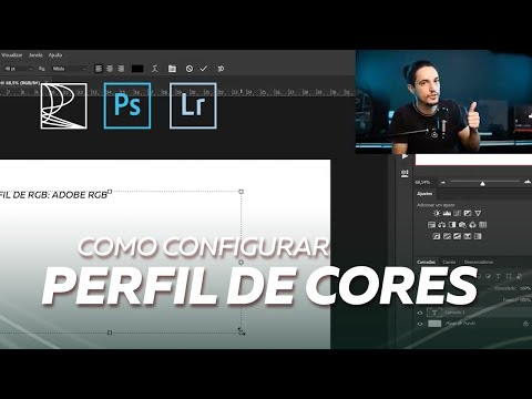 Como Configurar Perfil De Cores No Adobe Lightroom E Adobe Photoshop