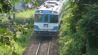 [警笛あり]JR四国 キハ185系 特急剣山1号 阿波池田駅付近通過