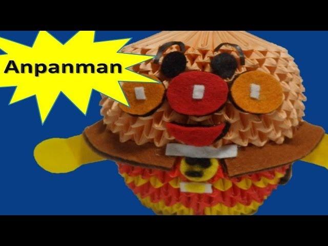 3D origami Anpanman 巽束?辰遜?脱??達??巽卒? 達?蔵達?続達??達?続達??達?続 - YouTube
