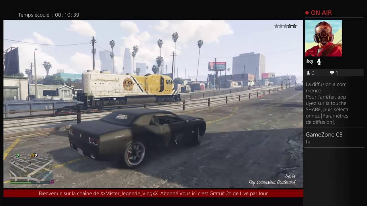 Live GTA V Gameplay et Fun Acompagné de Dana Gameuse PS4 [FR] - YouTube