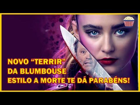 """Gostou de A Morte te dá Parabéns?? 🔪😍 Então você vai amar esse novo """"terrir"""" da Blumhouse!!"""