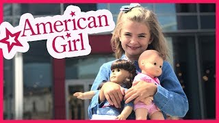 Video FIRST TIME AT THE AMERICAN GIRL STORE!! download MP3, 3GP, MP4, WEBM, AVI, FLV Agustus 2018