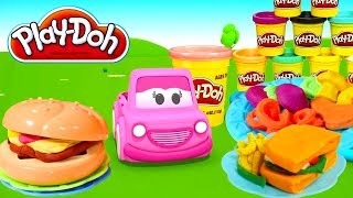 Learn colors with Play-Doh. Learning videos.