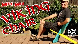 Easiest Chair You Can Make In About An Hour. Great For Camping! | Mere Mini