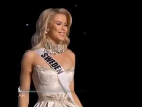 Miss Universe - Sweden Ida Ovmar - Wearing Dress of Dreams ...