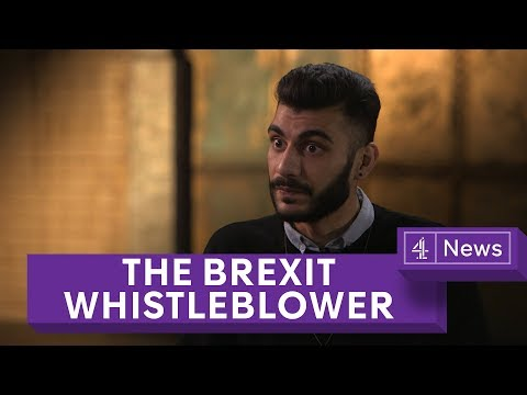 Brexit campaign was 'totally illegal', claims whistleblower