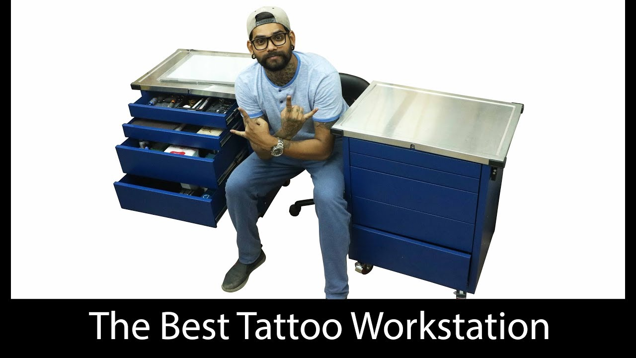 Amazing Tattoo Workstation Tattoo Setup Arm Rest Surprise