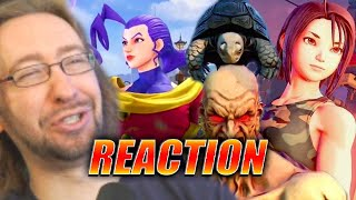 MAX REACTS: Rose, Oro & Akira LOOK SICK - Street Fighter V Spring Update