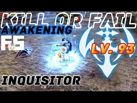 Dragon Nest PvP : Inquisitor Awakening KOF Lv. 93 KDN Spec Mode.