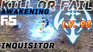 Dragon Nest PvP : Inquisitor Awakening KOF Lv. 93 KDN Spec Mode.