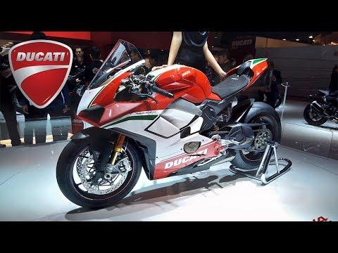 Ducati 2018: Panigale V4 / Panigale 959 Corse / Monster 821 / Multistrada 1260 / Scrambler 1100