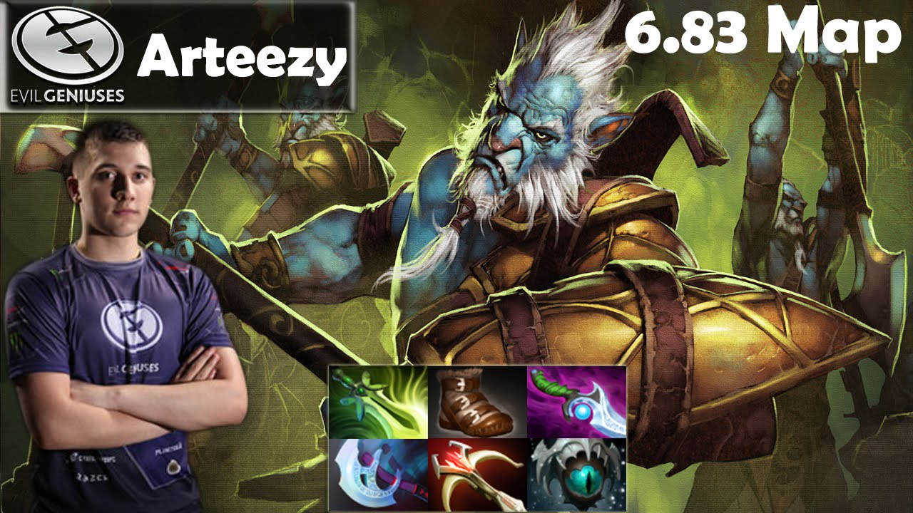 arteezy eg phantom lancer pro gameplay 29 kills mmr dota