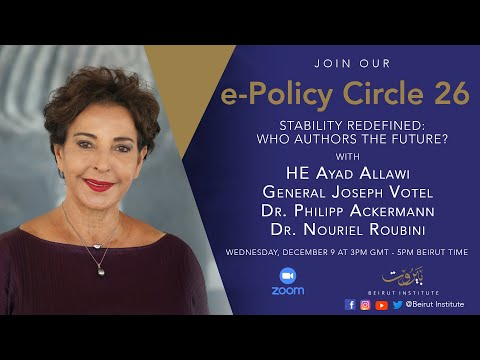 Beirut Institute Summit e-Policy Circle 26