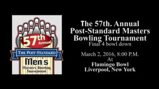 Post Standard Masters Bowling Tournament Finals 2016