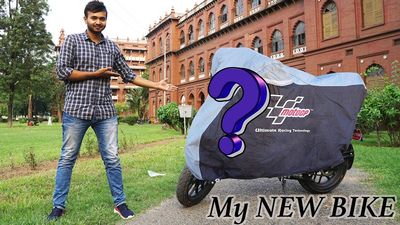 AT LAST,  MY NEW BIKE  RECEIVED !!! Alhamdulillah