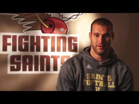 Meet University of St Francis Football Player Dustin Greenwell
