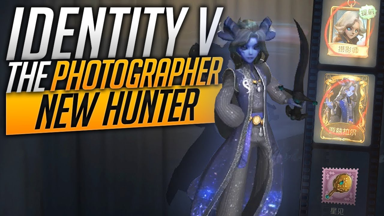 New Hunter - Limited Skin - Special Accessory - The Photographer - Identity  V