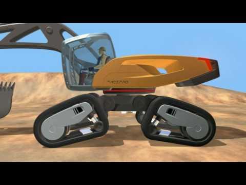Volvo SFINX - Volvo's Futuristic Excavator Concept Machine
