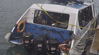 Indonésie : explosion d'un moteur sur un bateau de tourisme, 2 morts