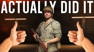 I actually did it - Battlefield 5