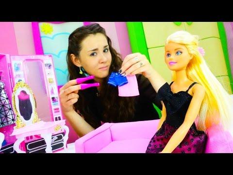 Игры для девочек одевалки: Барби не знает что надеть в театр. Хорошие манеры