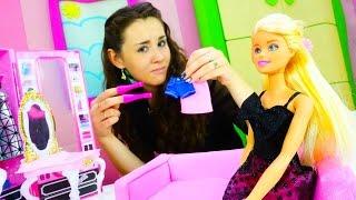 Куклы Барби - Что надеть в театр? Игры одевалки.