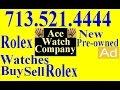 Buy Rolex Watches Houston