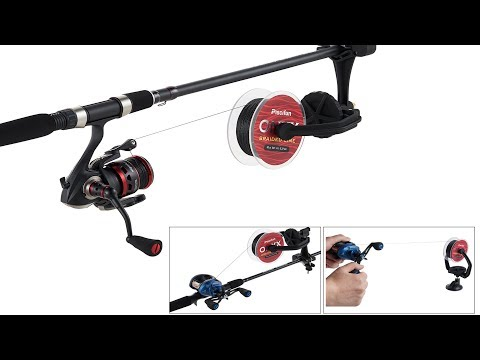 Piscifun Fishing Line Spooler & Winder - Review & Demo