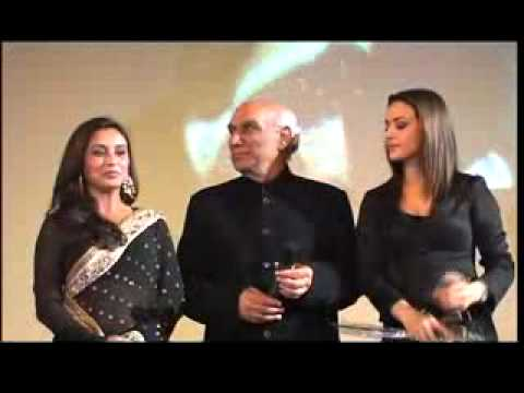 yash chopra rani mukerji preyti zinta veer zara indevoyage2012 bollywood week paris