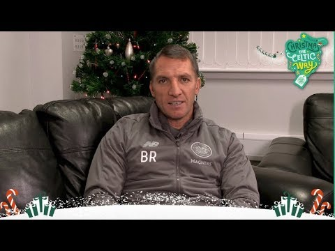 Celtic FC - 🎄🎅 Brendan Rodgers wishes the #CelticFC family a very Merry Christmas!